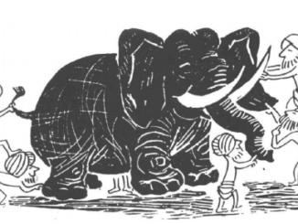 Eléphants et 6 aveugles